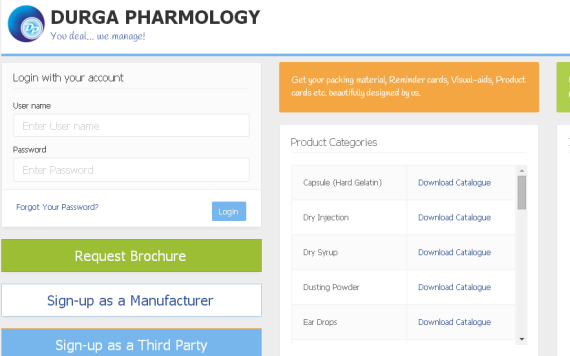 Pharmaceutical Trading Web Application